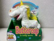Toy Story Collection Buttercup Plush John Lasseter With Signature Certificate