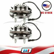 2 Pcs For 2009-2011 Ford F150 2wd Front Wheel Hub And Bearing Assembly W/abs