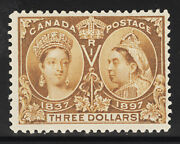 Canada Postage Stamp Catalog No 63 Mint Lh