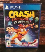 Crash Bandicoot 4 Its About Time - Ps4 - Playstation 4- Brand New - Eng/spanish