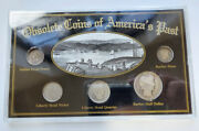 Obsolete Coins Of America's Past Silver Authentic 5 Coin Set