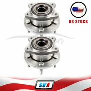 2 Pcs Fit For Ford Taurus Mercury Sable Rear Wheel Hub Bearing Assembly W/abs