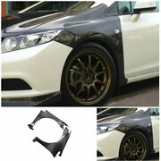 For Honda Civic Fb4 Fb6 2012-15 Carbon Fiber Car Air Flow Vent Side Sticker Trim