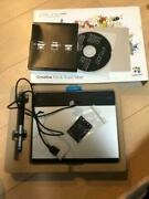 Wacom Intuos Comic Art Pen And Touch Tablet Cth-480/s3 From Japan