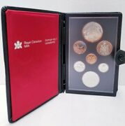 1980 Royal Canadian Mint Coin Set Contains Both The Silver And Nickel Dollar