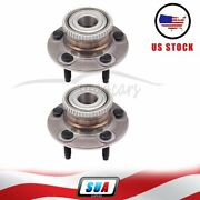 2 Pcs For 01-2007 Ford Taurus Left Or Right Side Rear Wheel Hub Bearing Assembly
