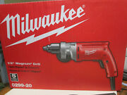 Milwaukee 0299-20 1/2 Inch Magnum Drill With Chuck Key