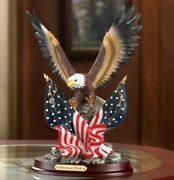 Patriotic American Eagle Statue Sculpture For The Usa Free Shipping