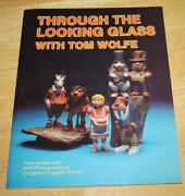 Through The Looking Glass Wood Carving Pattern Book W/extra Patterns Tom Wolfe