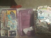 Sports Cards Lot Old Cars Vintage Cards And More