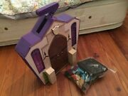 Monster High Doll House School Playset With Accessories Portable Fold Out Mattel