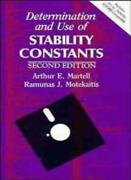 Determination And Use Of Stability Constants Motekaitis Martell Martell+=