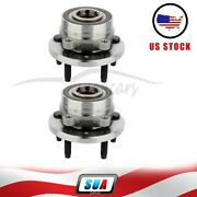 Pair Of 2 For 2013-2018 Ford Taurus Front Left Or Right Side Wheel Hub Bearing