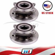 Pair Of 2 For Cooper S Clubman Wagon 3-door Front Wheel Hub And Bearing Assembly