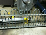 Architectural Salvage Cast Iron Fence 20 Ft X 3 Ft In 2 Sections Arch And Spear