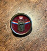 Vintage Red Nfl/ford Motor Company Punt Pass And Kick Contestant Pin