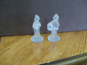 Goebel Crystal Collection - Two Frosted Figurines - Soloist And College Boy - 3