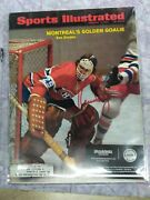 Ken Dryden Montreal Canadiens Signed Full 1970's Sports Illustrated Magazine