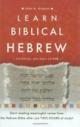 Learn Biblical Hebrew [with Cdrom] By Dobson, John H Book The Fast Free Shipping