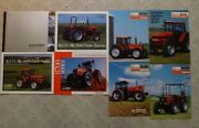 Agco Allis Gleaner Tractors And Combines  Brochures New Nice Lot Of 8