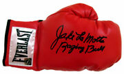 Jake Lamotta Hand Signed Autographed Boxing Glove With Proof And Coa Very Rare
