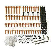 Brand New Fairing Fastener Screws Bolts Kit Fit For Honda All Models And Years