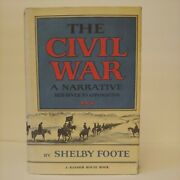 Shelby Foote / The Civil War A Narrative Red River To Appomattox 1st Ed 1974