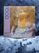 Springbok Vintage Puzzle America's Heartthrob Miss Piggy 1000 Pieces New Sealed