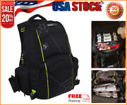 Spiderwire Tackle Backpack Fishing Rod Holder/carry System W/ 3 M Utility Boxes