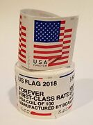 1 Coil Brand New Sealed Roll 100 Usps Forever Postage Stamps Free Fast Shipping