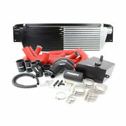 Perrin Front-mount Intercooler Kit For 15-17 Sti - Black Corered Piping