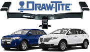 Draw-tite 75992 Class Iii 2 Max-frame Receiver For Ford Edge And Lincoln Mkx New