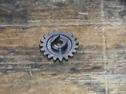 Rm125 Water Pump Drive Gear Coolant Cooling Fin 1998 C