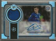 2019-20 Topps Museum Collection Uefa Mason Mount Auto Relic 18/199 Nice
