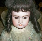 Gorgeous Old Antique Doll Dep Handwerck 3 Germany 21 Jointed Strung