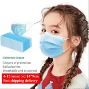 100 Pcs Kids Unisex Face Mask Mouth And Nose Protector Respirator Masks Usa Seller