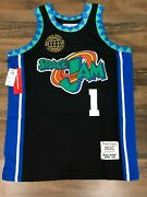 Space Jam Bugs Bunny Black Basketball Jersey Authentic By Headgear Classics