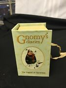 Annekabourke Gnomy's Diaries Snowtime Figurines Used W/box