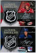 07/08 Ud The Cup Eric/marc Staal Dla-em Dual Autographed Nhl Shields 1/1 Auto