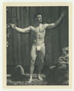 Keith Stephan Beefcake Photo 1950 Bruce Of La Nude Male Gay Physique Hunk Q7633