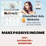 Automated Classified Ads Listing £25,000+ A Year Website Business For Sale