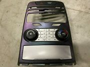 09-12 Hyundai Genesis Coupe Heater And Ac Air Conditioning Climate Controls Bk1