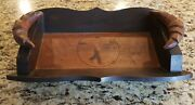 French Vintage Wooden Bread Box/platter