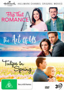 Hallmark Collection 8 Flip That Romance / The Art Of Us / Tulips In Spring [nts