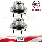 Pair Of 2 For Ford Taurus 1996-2007 Continental Front Wheel Hub Bearing Assembly