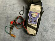 Lightly Used Tempo Sidekick Voc Copper Cable Stress Tester With Soft Case