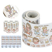 5boxes Cute Stickers Stationery Diy Scrapbooking Diary Label Sticker Decoration