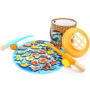 Top Bright Toddler Fishing Game Magnetic, Montessori Preschool Toys For 2 Year