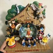 Mickey Mouse Club Snow Globe Height 8.2㏌