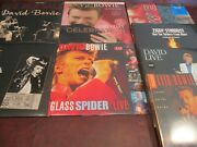 David Bowie Live Numbered Santa Monica + Friend + Glass Spiders + From Mars Set